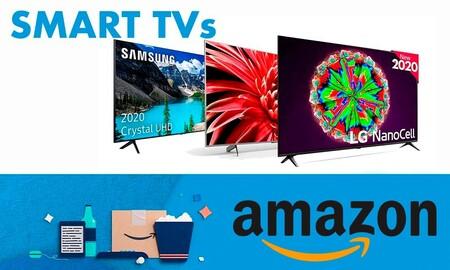Con estas smart TVs de Sony, LG o Philips te puedes adelantar al Black Friday en Amazon ahorrando mucho dinero