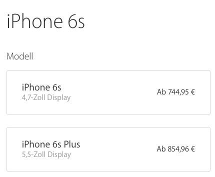 Precios Iphone Alemania
