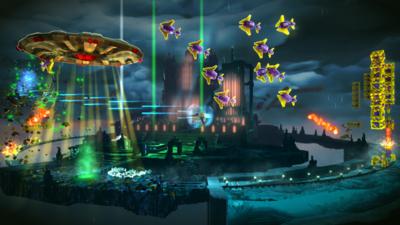Defenders, la última expansión para Resogun llegará a PS4 el 17 de febrero