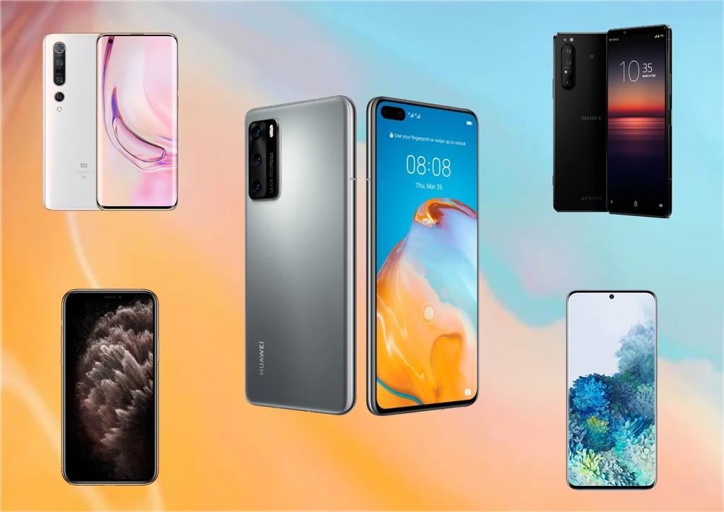 Comparativa del Huawei P40 Pro frente al Samsung Galaxy S20+, Xiaomi Mi 10 Pro, iPhone 11 Pro Max y los mejores móviles del mercado