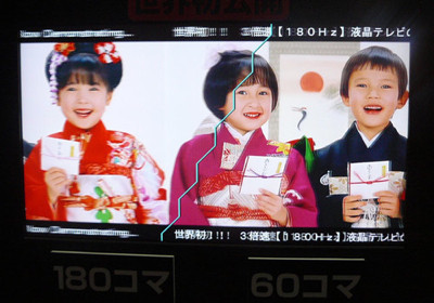 Televisores JVC con refresco a 180 Hz