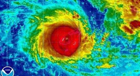 Fiyi está sufriendo la mayor tormenta registrada en el hemisferio sur