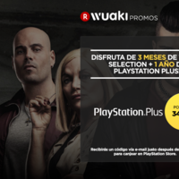 1 año de PlayStation Plus, con 3 meses de Wuaki Selection de regalo, por 34,99 euros