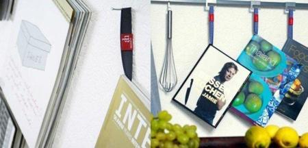 Hanging Books Delicious, accesorio para colgar libros y revistas