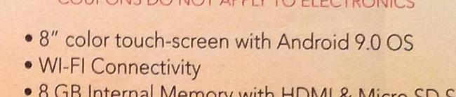 Android 9.0 recorte