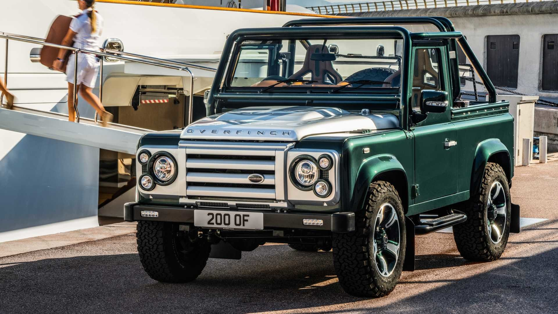Foto de Land Rover Defender by Overfinch (1/19)