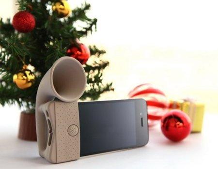 Horn Stand, soporte y más sonido para tu iPhone