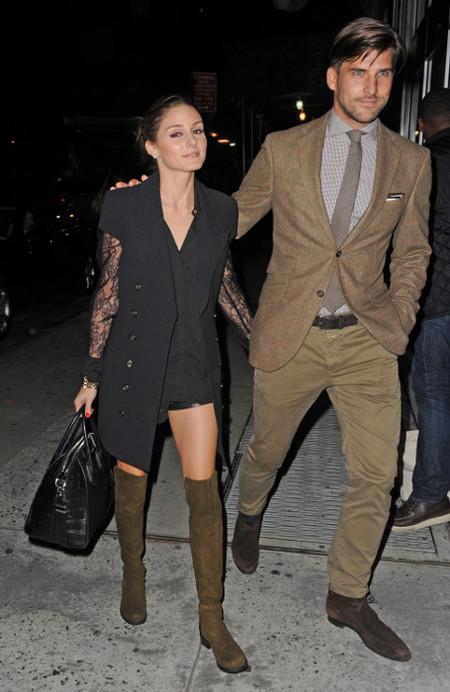 Johaness Huebl brown suit