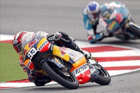 MotoGP San Marino 2010: Marc Márquez vuelve por sus fueros en 125
