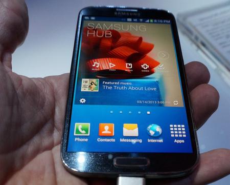 LG creé que Samsung infringe su patente de seguimiento visual en el Galaxy S4