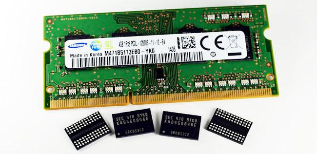 No es DDR4, pero la nueva NAND de 20 nanómetros de Samsung apunta a ella