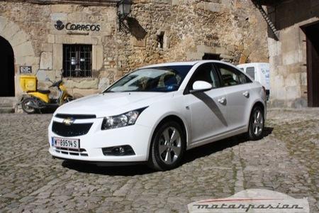 Chevrolet Cruze: presentación y prueba (I)