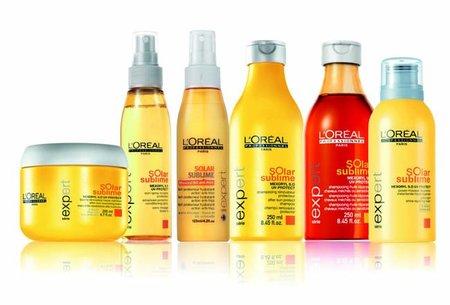 L'oréal Solar Sublime, gama completa de L'Oréal Professionnel