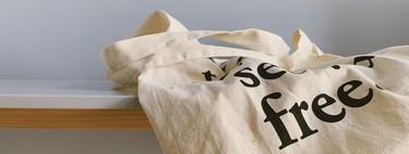 ¿Utilizas una bolsa de tela frente a las de plástico? Su huella medioambiental es mil veces mayor