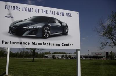 Honda se prepara para fabricar el Acura NSX
