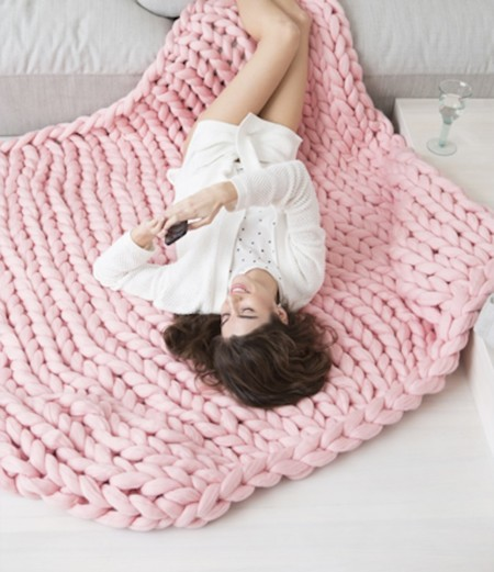 08 Large Blanket Pink