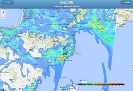 Caliope, la aplicación para conocer la calidad del aire
