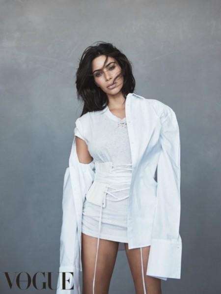 Kim Kardashian Portada Vogue Australia Junio 2016 3
