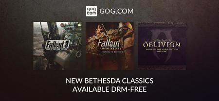 TES IV: Oblivion, Fallout 3 y Fallout: New Vegas se unen a GOG con unos descuentos irrechazables