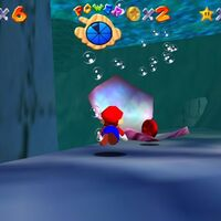 Super Mario 64: cómo conseguir la estrella Red Coins on the Ship Afloat de Jolly Roger Bay