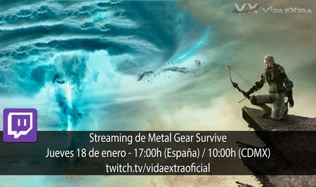 Streaming de Metal Gear Survive a las 17:00h (las 10:00h en Ciudad de México) [finalizado]