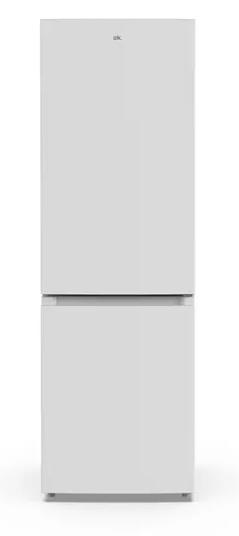 Frigorífico combi - OK OFK 623 F NF, 310 l, Total No Frost, LED interior, 185 cm, Blanco