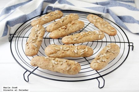 Barritas caseras de pan de pipas, receta