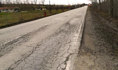 Carreteras en mal estado, España