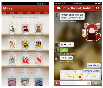 Nueva version de Path para iOS