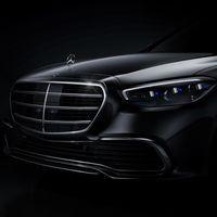 La primera imagen oficial del nuevo Mercedes-Benz Clase S sale a la luz