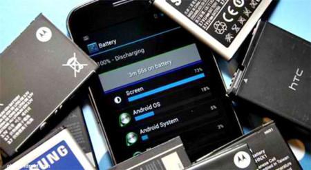 Baterías smartphones