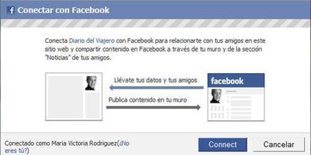 Ya puedes conectarte a Diario del Viajero con tu cuenta Facebook