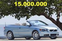 Un Volvo C70 descapotable será el coche 15 millones de la marca