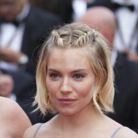 Sienna Miller se despide de Cannes con un vestido que sólo ella podía defender