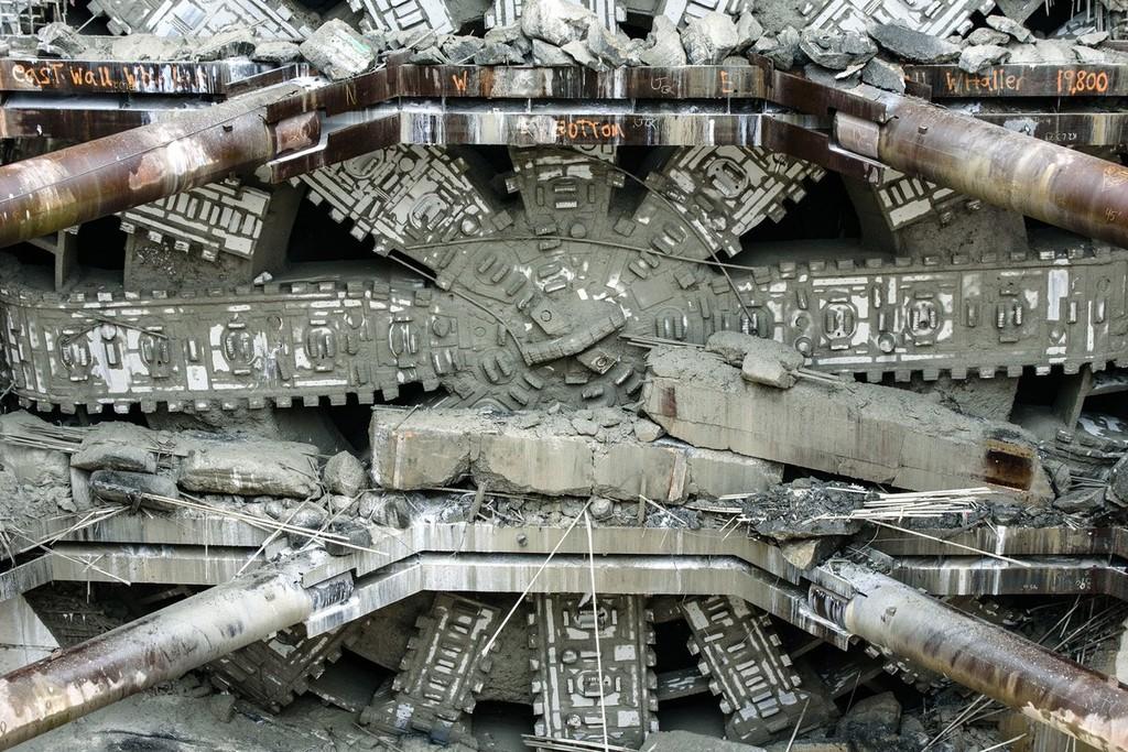 Bertha Tunneling Machine3 1