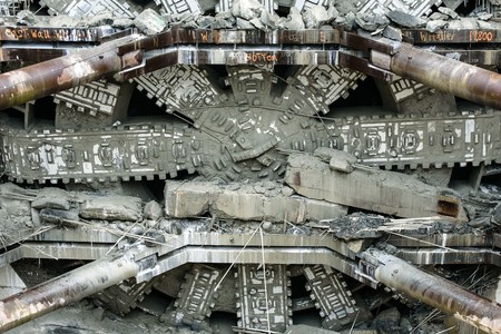 Bertha Tunneling Machine3 1