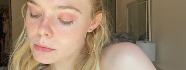 Eczema o sombra de ojos: así bromea Elle Fanning con sus rojeces para normalizar la piel reactiva