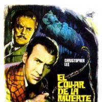 'El collar de la muerte', Christopher Lee como Sherlock Holmes