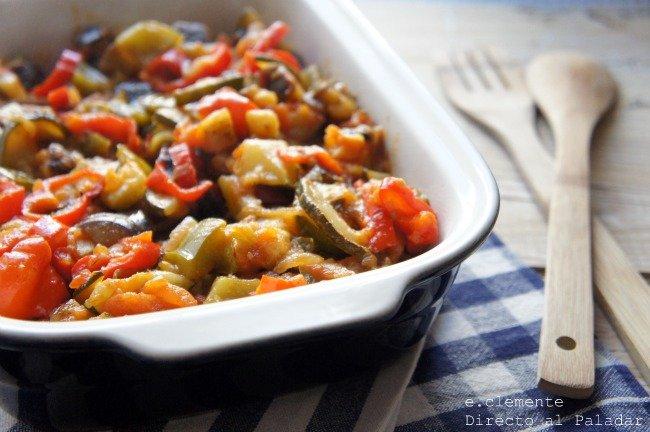 Receta de ratatouille for Verduras francesas