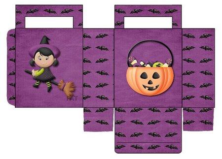 Cajas para caramelos de Halloween