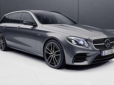 """Así son los Mercedes-AMG E 53 berlina y Estate: las versiones """"mild-hybrid"""" de acceso, en 6 puntos clave"""