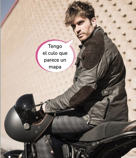 Rodri Fuertes, el churri de Adara Molinero, enseña su culo lleno de moratones tras sufrir un accidente de moto