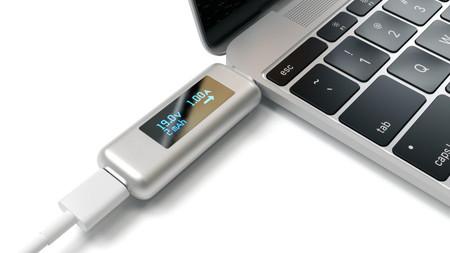 No tengas miedo: con este USB-C Power Meter no podrás freír tu equipo con un cable incompatible