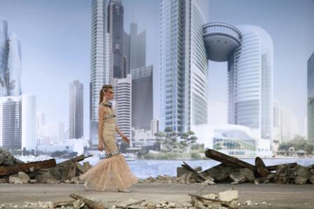 Chanel Alta Costura Otoño-Invierno 2013/14: desfilando en la ciudad del futuro