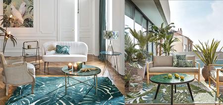 Descubre nuestra selección de alfombras coloridas y elegantes para decorar la casa de manera sencilla esta primavera