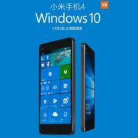 Xiaomi ofrecerá Windows 10 a los usuarios del XIaomi Mi 4 esta semana