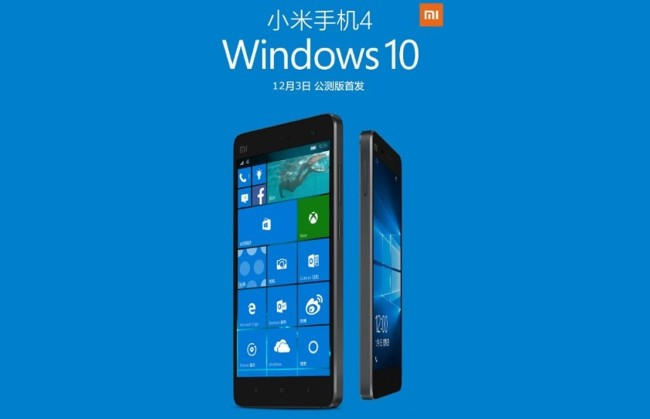 Windows 10 Xiaomi Mi 4 840x541