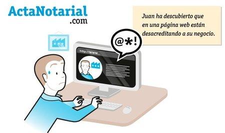 ActaNotarial.com, documentos notariales de los contenidos de páginas web