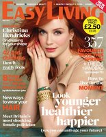 ¿Más guapa que Christina Hendricks en la portada de Easy Living?... ummm lo dudo
