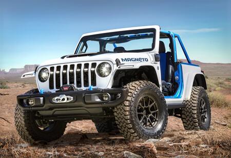 Jeep Magneto, el primer eléctrico sale a la luz junto con otros conceptos, previo a su gran presentación